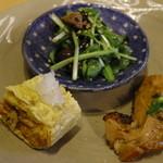 ファイダマ - おきなわ紅豚ロースカツの前菜