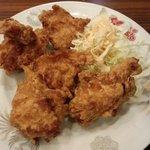ふくちぁんラーメン - 鶏唐揚げ(五個)390円