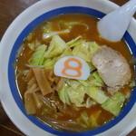 8番らーめん - 料理写真:野菜らーめん(\560税抜き)