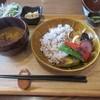 黒糖茶房 - 料理写真:焼き野菜の黒糖生姜カレー