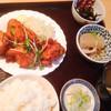 銀座いわた - 料理写真:鶏の唐揚げ定食