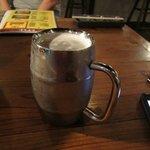 昭和ホルモン食堂 - じゃんけんに勝ったから私はビールをいただきました