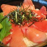 大起水産 海鮮レストラン - 生本まぐろ丼 1480円