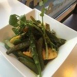 ボンベイ - 季節の野菜のサブジ