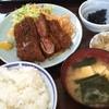 味処いちむら - 料理写真:牛カツ定食 ¥1200