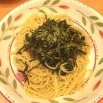 サイゼリヤ - ほうれん草のスパゲッティ