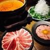 鴨とワイン Na Camo guro - 料理写真:鴨しゃぶ