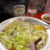 ながづき - 料理写真:中華丼にビール