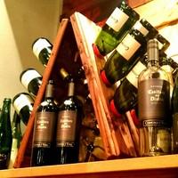 さくさくの長田焼きはワインにピッタリ!