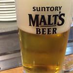 高砂○ - 生ビール