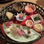 粟 - 色鮮やかな前菜