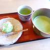 茶処 玉冨久 - 料理写真:抹茶とお菓子