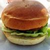 米山サービスエリア上り線ショッピングコーナー - 料理写真:番屋バーガー