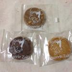 パティスリー ザキ - 料理写真:チョコクッキー、マンデル、コーヒークッキー