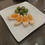 ジェム バイ モト - 燻製:玉子とオリーブ1