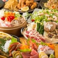 美味い鍋は出汁で決まる!自慢の鍋コースが2500円~♪