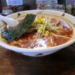 らいおん亭 - 辛いおんラーメン(塩)