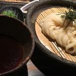 山元麺蔵 - ざるうどん(630円)