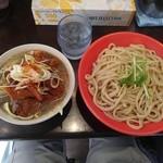 G麺屋 - マッチョつけ麺:特盛(麺400g)