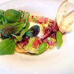 49763940 - ホタルイカと春野菜のペペロンチーノ