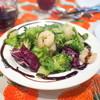 スパッカ ナポリ - 料理写真:エビとブロッコリーのサラダ '16 3月中旬