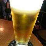 京鼎樓バル - 生ビール