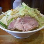 濃菜麺 井の庄 - 濃菜麺ランチセット(野菜大盛り+麺大盛り)890円。