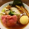 居酒屋 桃太郎 - 料理写真:特製鶏だし醤油950円!