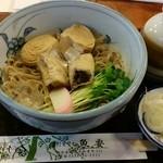 魚要 - 料理写真:湯波そば(冷)です♪