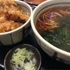 山吹 - 料理写真:肉天丼セット(650円)