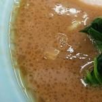 武蔵家 - スープは粘度がありました。
