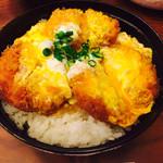 とんかつ 力 - 煮かつ丼(ヒレ)