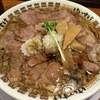 肉そばけいすけ - 料理写真:「背脂肉そば」(830円)
