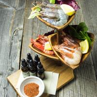 3種の海老 食べ比べ