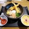 藍屋 - 料理写真:大海老天と桜海老のぶっかけうどんセット¥1440