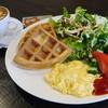 カフェ プレンヌ - 料理写真:ワッフルサラダプレート