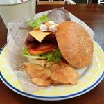 CAFE&HAMBURGER Ra-Maru - 下田バーガー(金目鯛)