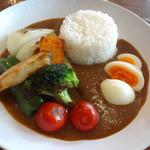 幡ヶ谷CAFE - 野菜玉子カレーです