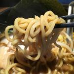 49857516 - 麺は中太のストレート麺
