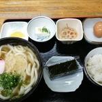 手打うどん長兵衛 - 朝うどん450円