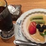銀座洋食 三笠會館 - デザート、アイスコーヒー