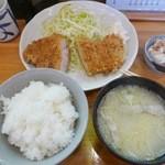 とんかつ 燕楽 - 【カツランチ…900円】♬2016/3