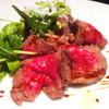 バール ブリオ - 料理写真:びらとり和牛ランプのタリアータ