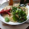ビオ・オジヤン・カフェ - 料理写真:オジヤLサイズと、おこげチーズと、香味野菜です