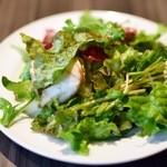 バルピノーロ - ランチセットのサラダ