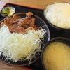 とんかつ 麻釉 - 料理写真:ランチのしょうが焼き定食860円