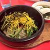 九州亭 - 料理写真:石焼ビビンバ(スープ付き)