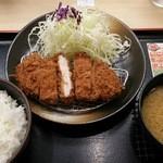 松乃家 - ロースかつ定食