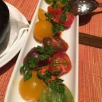 ビキニ ピカール - 三種のトマトのサラダ