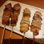 串鳥 - 料理写真:ボンジリ&トントロ/平成28年4月